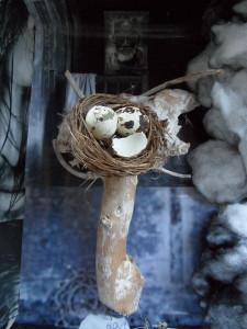 Beeldende oefening eigen nest